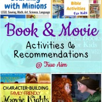 Book & Movie Activities for Kids and Mom's Library #148