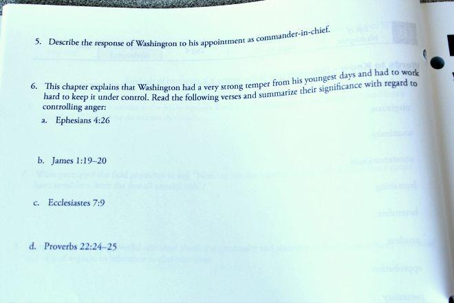 Christian History Homeschool Curriculum page