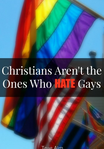 Christian's aren't the ones who hate gays