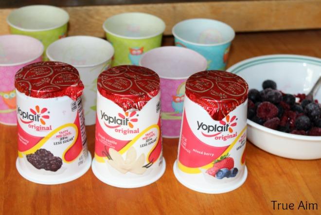 How to make yogurt pops for kids