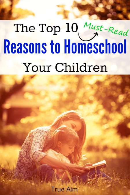 Top 10 Reasons to Homeschool Your Children. This is right on. Must Read!