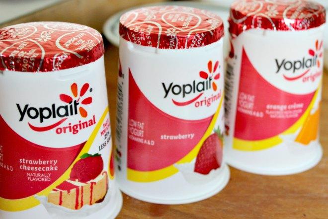 Yoplait yogurt for popsicles