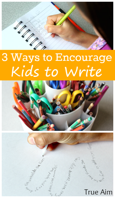 3 Ways to Encourage Kids to Write! Make handwriting fun and a work of art! Great tips!