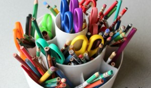 Activities to encourage children to write, supplies