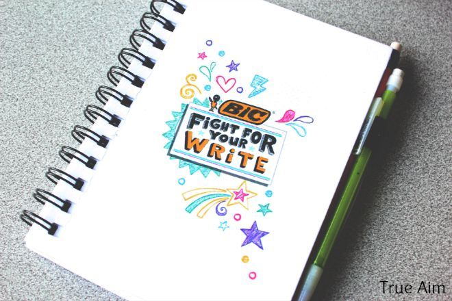BIC Fight for your write notebook