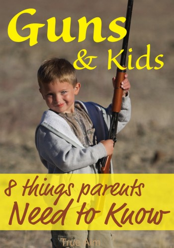 Gun Safety for Kids - 8 Things parents NEED to know!