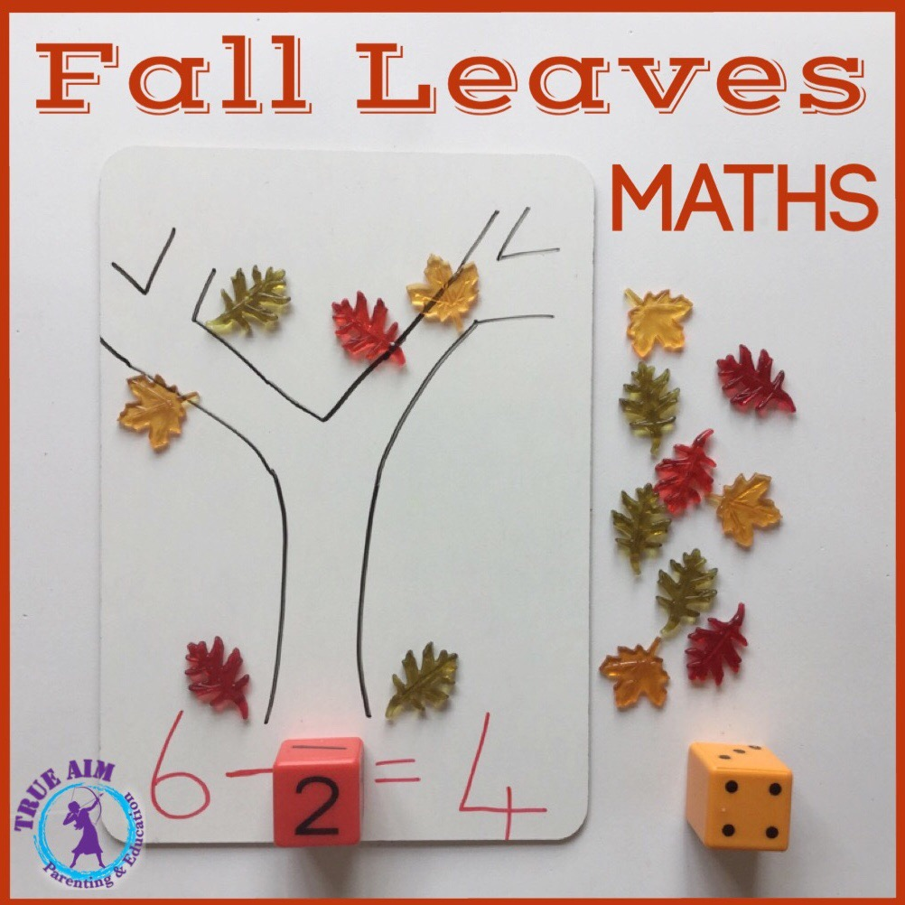 fall leaves maths