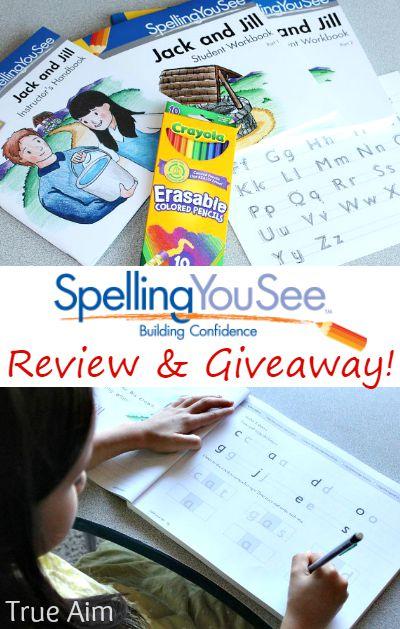 Spelling you see homeschool curriculum