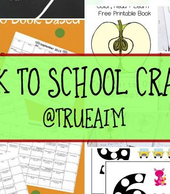 Back to School Crafts and Mom's Library #153