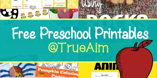 Free Preschool Printables and Moms Library #144