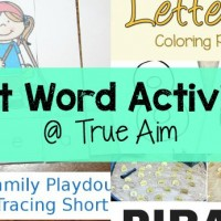 Sight Word Activities and Mom's Library #156