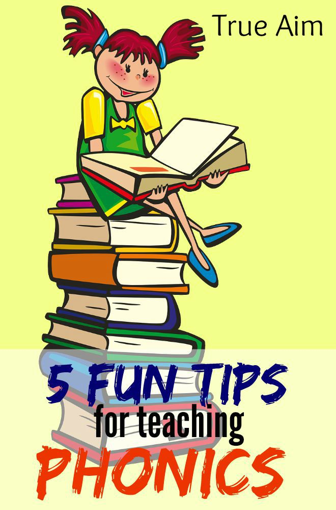 Don't let phonics drill get old and boring, instead use these 5 fun tips for teaching phonics keep school fresh!