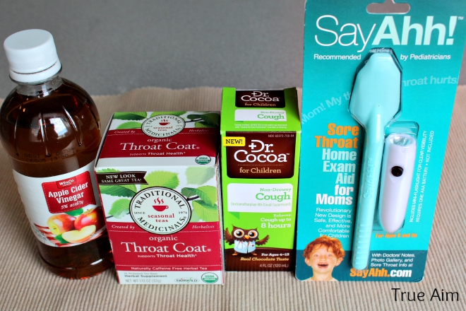 what to have in a medicine cabinet for a sore throat