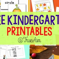 Free Kindergarten Printables and Mom's Library #160