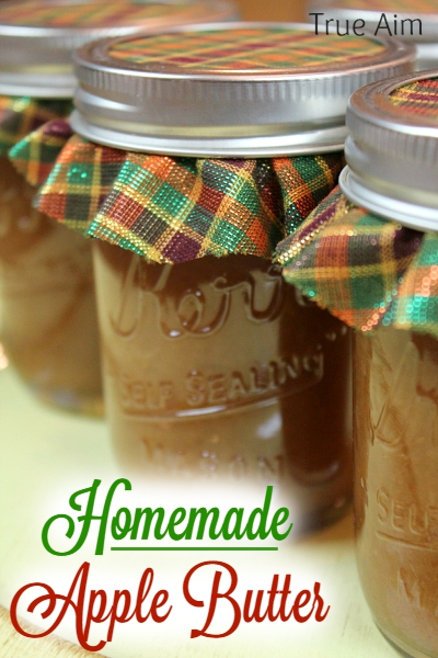 Homemade Apple Butter Recipe - Tastes as good as it smells!
