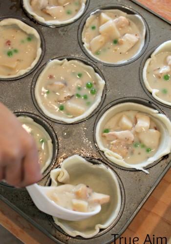$5 Dinner: Mini Chicken Bacon Pot Pies