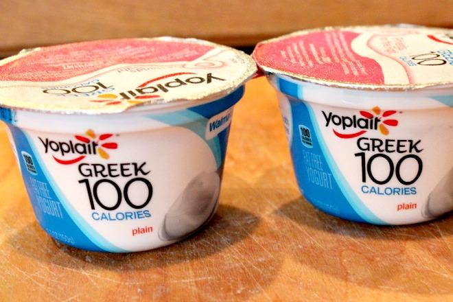 yogurt for pumpkin donuts
