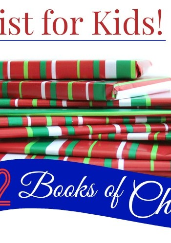 12 Books of Christmas Gift List for kids
