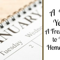 A New Year: A Fresh Start to Your Homeschool