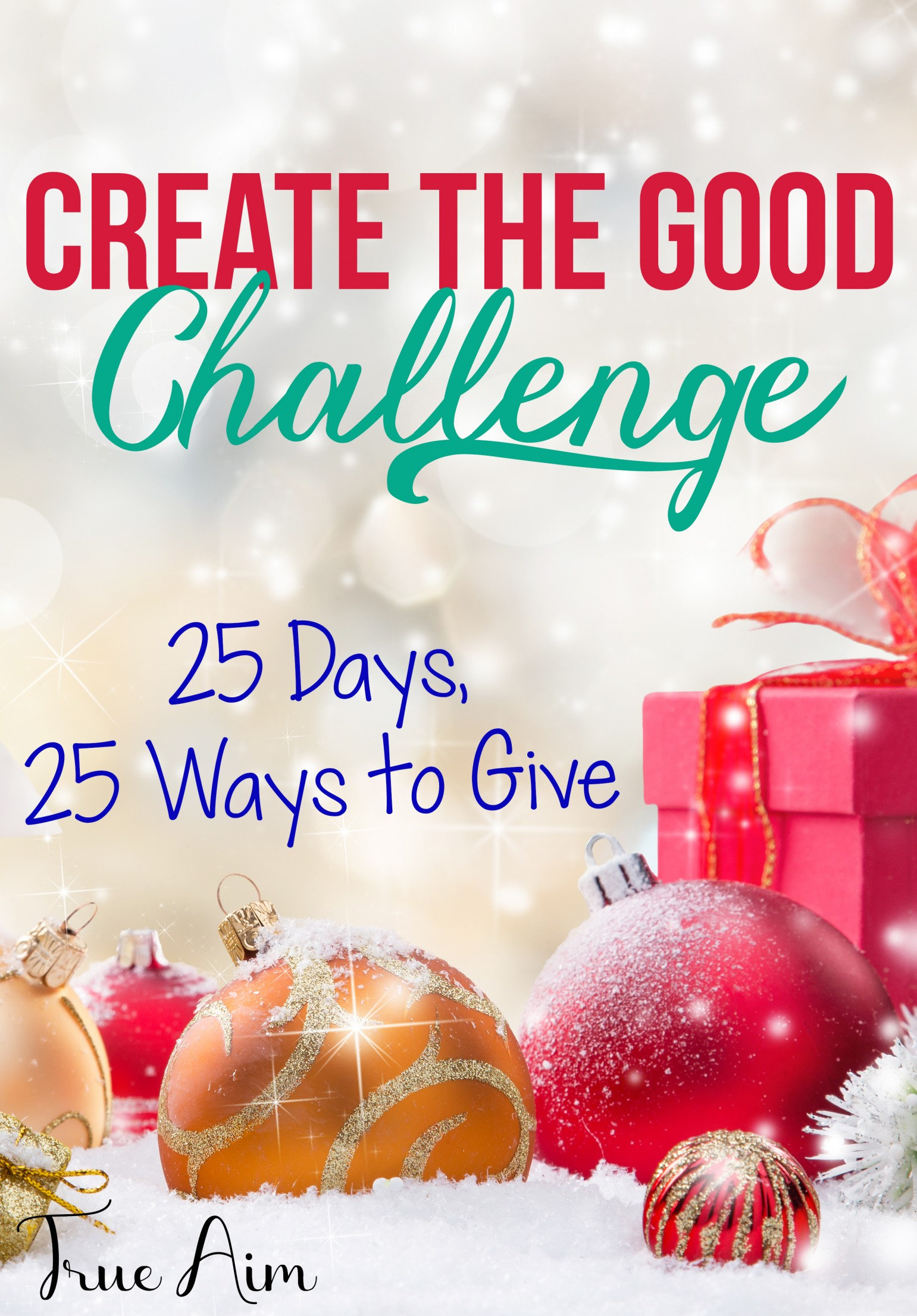 Create the Good Challenge