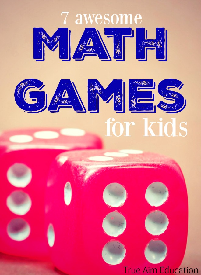 7 Awesome Math Games For Kids True Aim