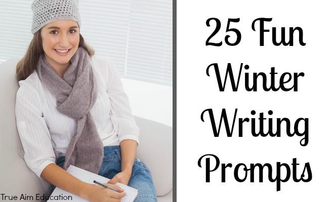 25 Fun Winter Writing Prompts