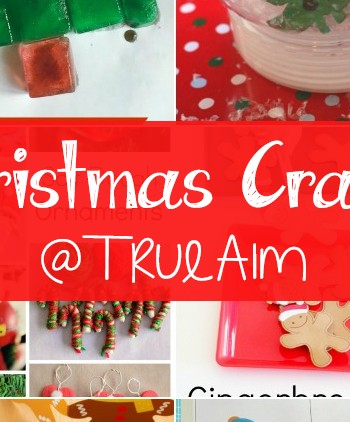 Christmas Crafts and Mom's Library #168