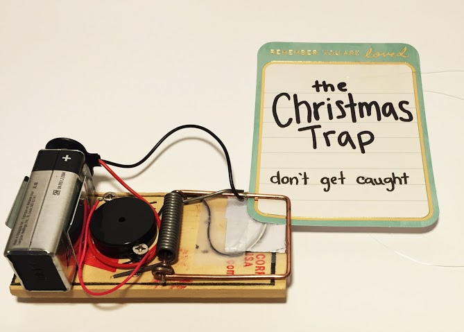 Christmas Trap Fun Tradition for kids