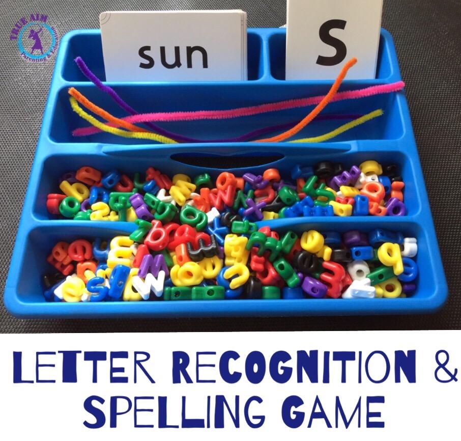 spelling tray