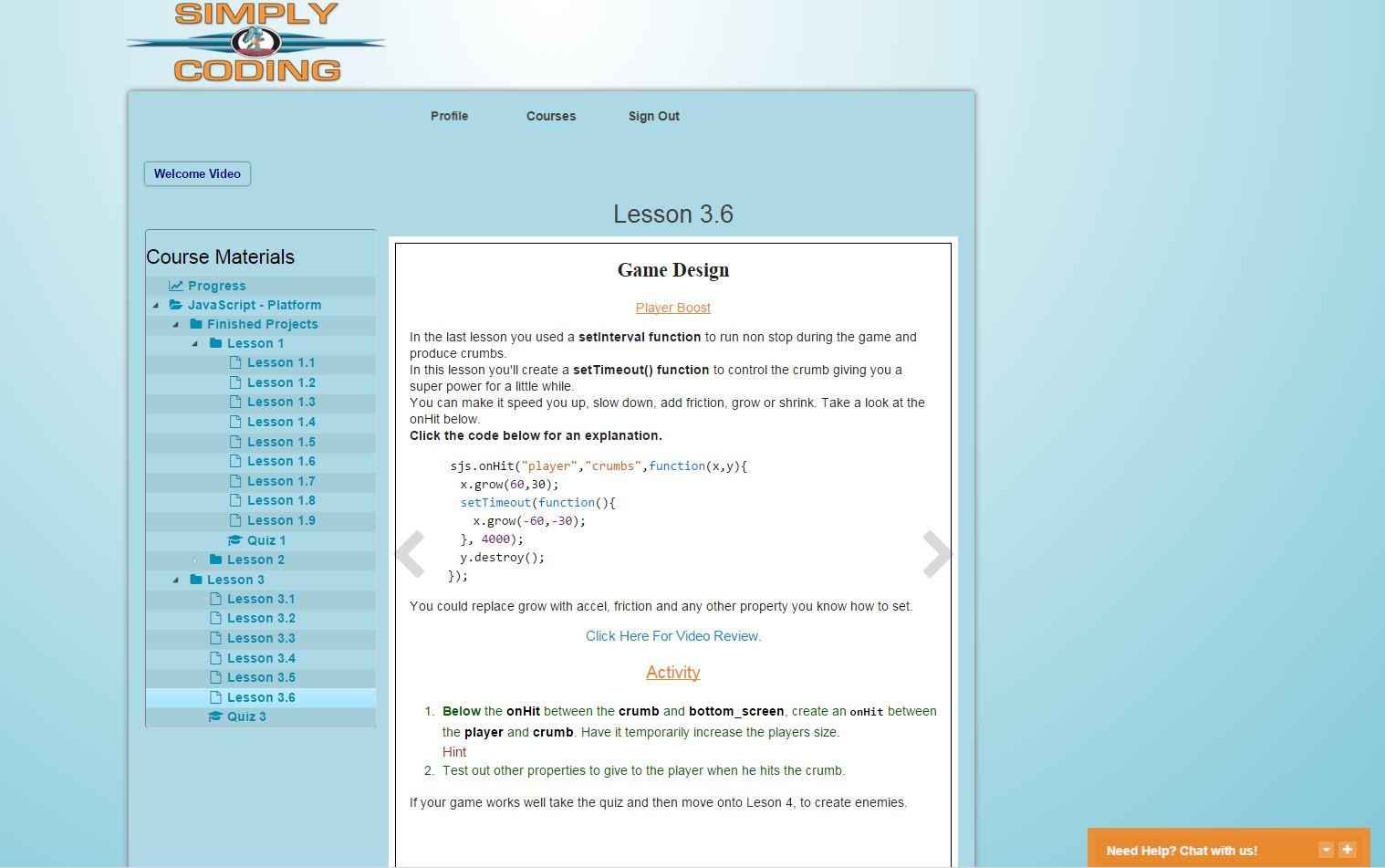Simply Coding Javascript Screenshot