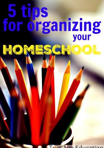 organizing your homeschool