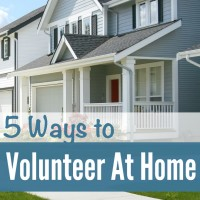 5 Ways Moms Can Volunteer from Home