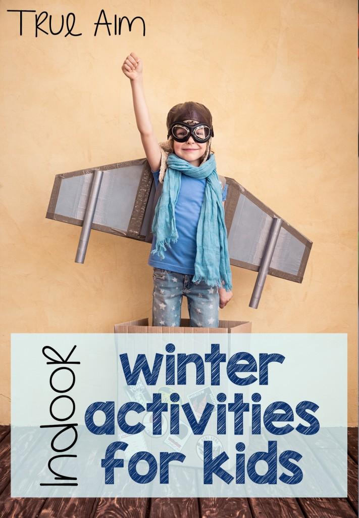Indoor Winter Activities and Mom\'s Library #170 | True Aim
