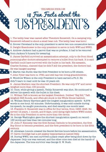 The Presidents Unit Study Freebie