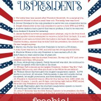 The Presidents Unit Study Freebie