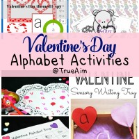 Valentine Alphabet Activities and Mom's Library #174