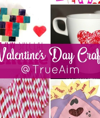 Valentine's Crafts and Mom's Library #175