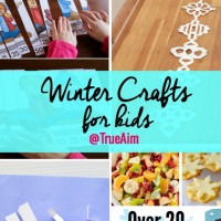 Winter Crafts and Mom's Library #171