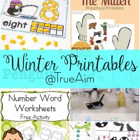 Winter Printables and Mom's Library #172