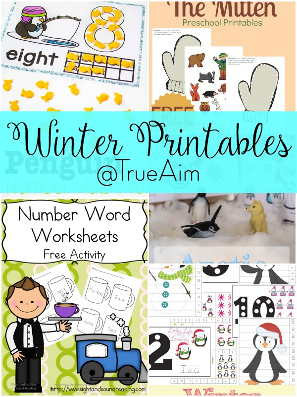 Winter Printables and Mom\'s Library #172 | True Aim