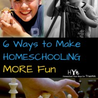 6 Ways to Make Homeschooling More Fun