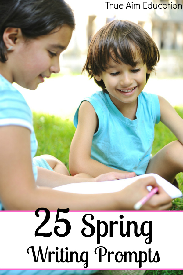 25 Spring Writing Prompts - By Misty Leask