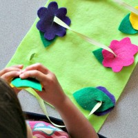 3 Simple Preschool Sewing Activities