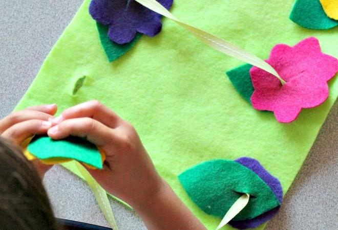 3 Simple Preschool Sewing Activities