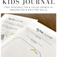 Free Printable Book Journal for Kids