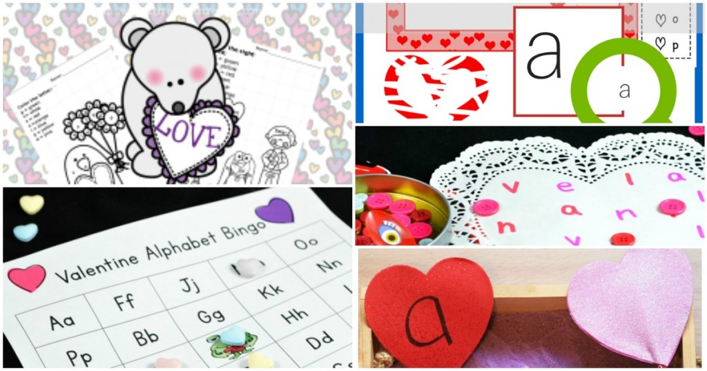 Valentine's Day Alphabet Activities
