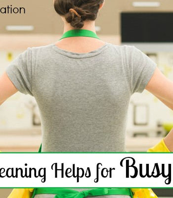 Spring Cleaning Helps for Busy Moms