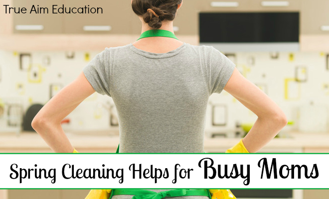 Spring Cleaning Helps for Busy Moms - By Misty Leask