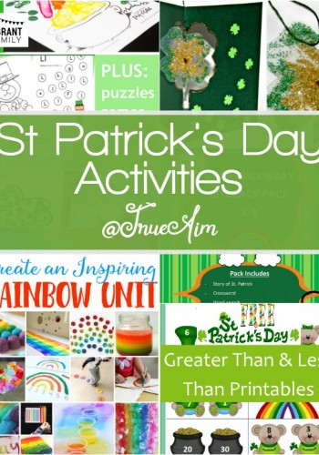 St. Patrick's Day Activities and Mom's Library #177