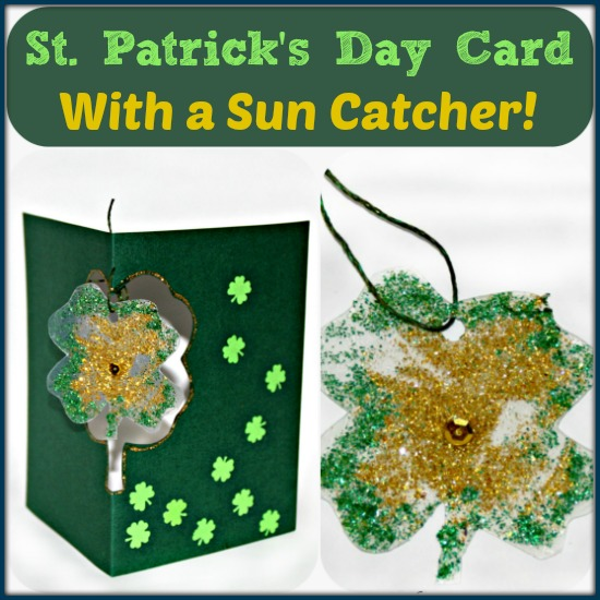 St.-Patricks-Day-Card-with-a-Shamrock-Suncatcher-by-Castle-View-Academy